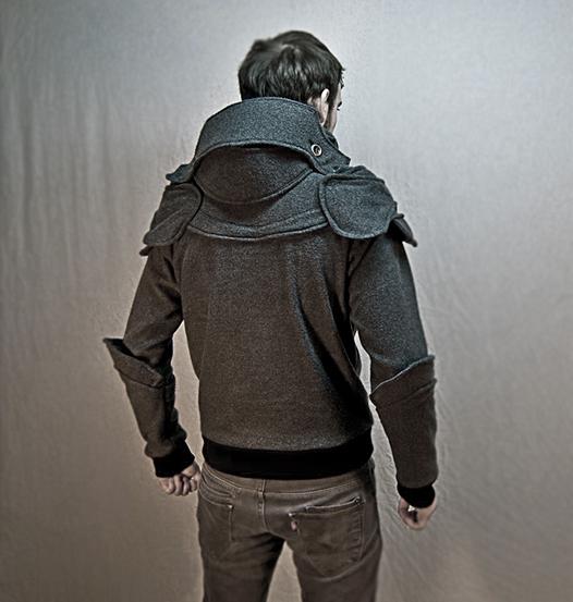 중세시대 기사들의 갑옷 같은 후드